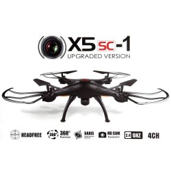 Syma X5SC-1 - Drone cámara  2.0 MP HD