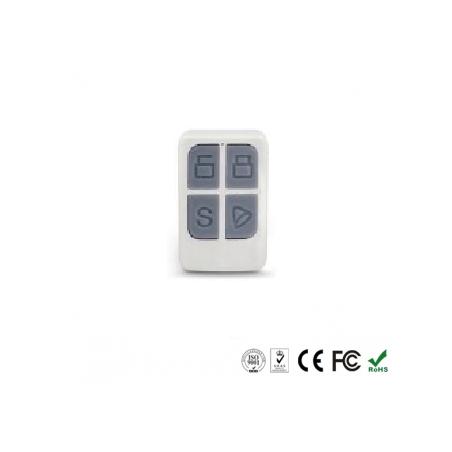Mando control remoto inalámbrico 4 funciones alarma G100