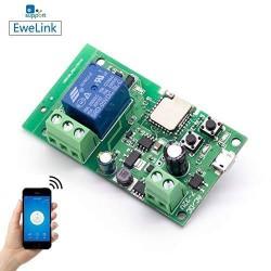 Relé WiFi inalámbrico alarma G200 Interruptor Inteligente DIY Hogar inteligente Gadget DC 5-32V Entrada