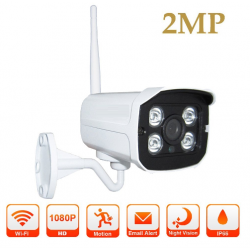 Cámara P2P 1080P HD Wifi IP Exterior / Interior. COMPATIBLE ALARMA G90B PLUS