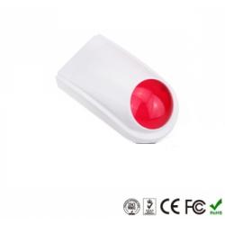 Sirena con luz estroboscópica para EXTERIOR INALAMBRICA estándar