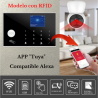 KIT H0323 * Alarma Original G205 WIFI - GSM + APP + Domótica fácil