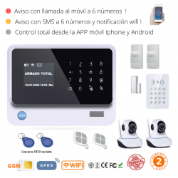 KIT 291-9 * Kit de Alarma G90B Plus Original  WIFI GSM GPRS SMS