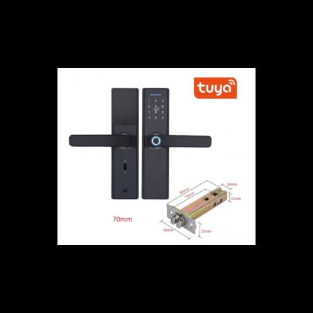 Cerradura WiFi con huella dactilar contraseña RFID APP Tuya