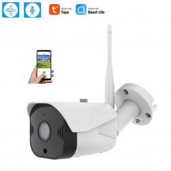 Camaras de Vigilancia Wifi Exterior 1080P, Compatible con Alexa, Exterior IP66