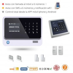 KIT 226/5 * Kit de Alarma G90B Plus Original WIFI GSM GPRS SMS