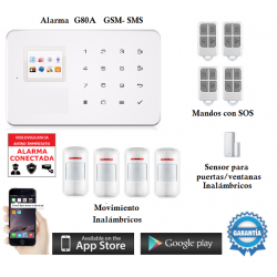 Kit de Alarma G80A Original GSM