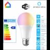 Bombilla LED WiFi DV-E27W ajustable color y brillo compatible alarma
