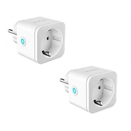 Pack 2 Enchufes Inteligente 16A 3300W TUYA compatible alarma