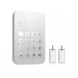 Teclado original inalámbrico con RFID para alarmas MAX21 FHSS + 2 tarjetas RFID