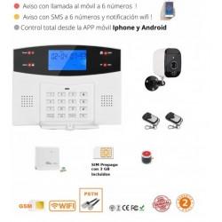 KIT 150/21 *  G88 Alarma Original Versión GSM + wifi + Llamadas + sms