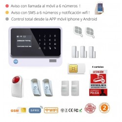 KIT 225 * Kit de Alarma G90B Plus Original